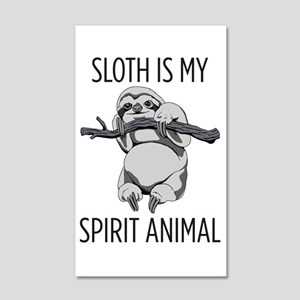 Sloth is my spirit animal. Wall Decal