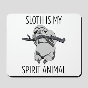 Sloth is my spirit animal. Mousepad