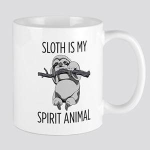 Sloth is my spirit animal. Mugs