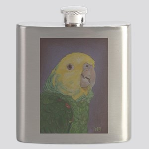 Double Yellow-Headed Amazon Flask