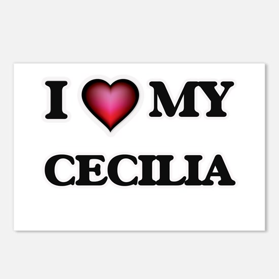 I love my Cecilia Postcards (Package of 8)