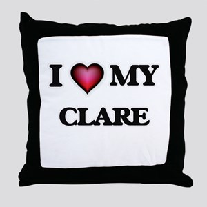 I love my Clare Throw Pillow