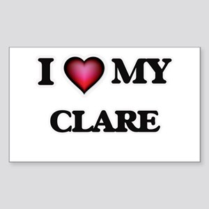 I love my Clare Sticker