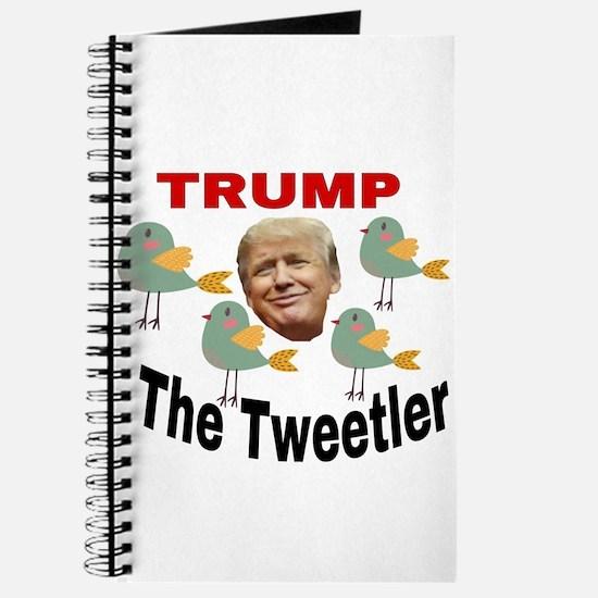Trump The Tweetler Journal