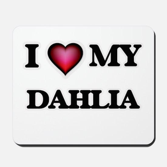 I love my Dahlia Mousepad
