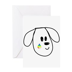 Buddy The Dog Greeting Cards