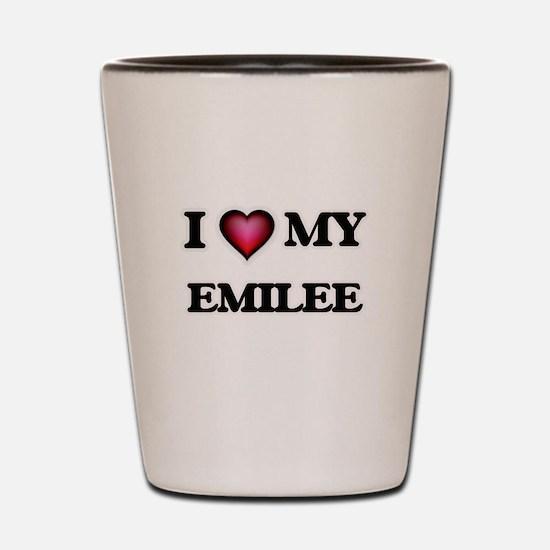 I love my Emilee Shot Glass