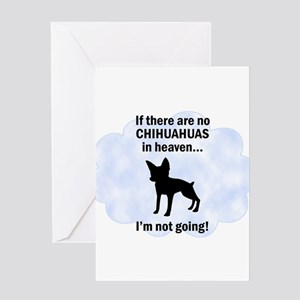 Chihuahuas In Heaven Greeting Card