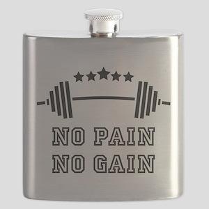 No Pain - No Gain Flask