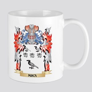 Mika Coat of Arms - Family Crest Mugs