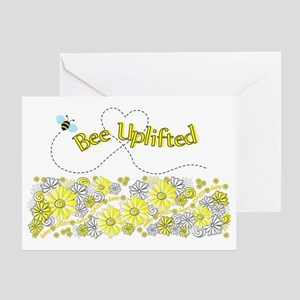 Daisy Bee Uplifted Card Greeting Cards
