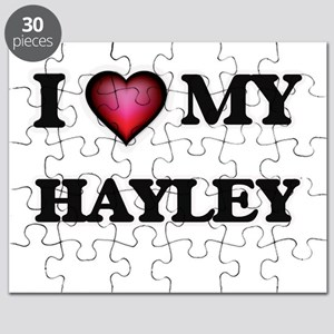 I love my Hayley Puzzle