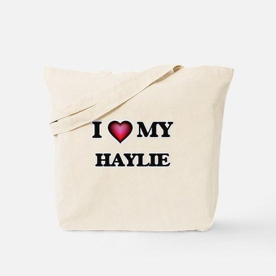 I love my Haylie Tote Bag