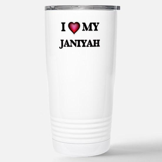 I love my Janiyah Stainless Steel Travel Mug