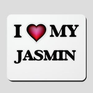 I love my Jasmin Mousepad