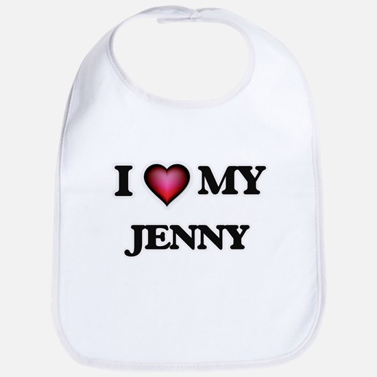 I love my Jenny Baby Bib
