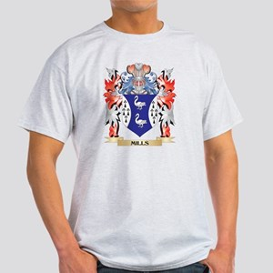 Mills- Coat of Arms - Family Crest T-Shirt