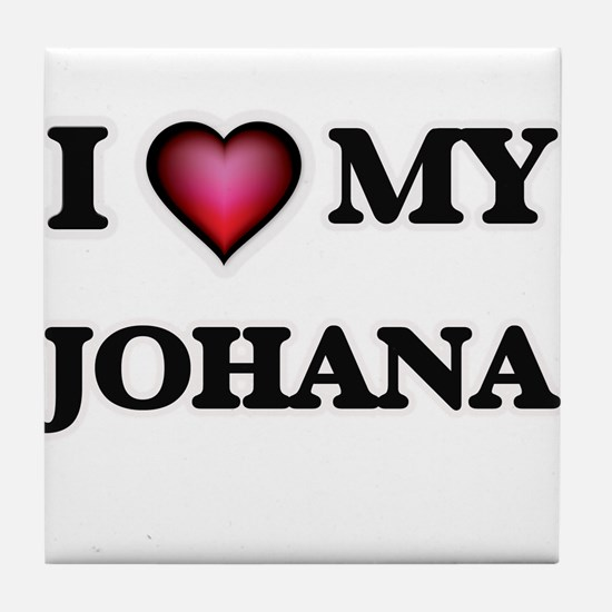 I love my Johana Tile Coaster