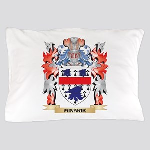 Minarik Coat of Arms - Family Crest Pillow Case