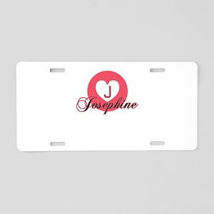 josephine Aluminum License Plate