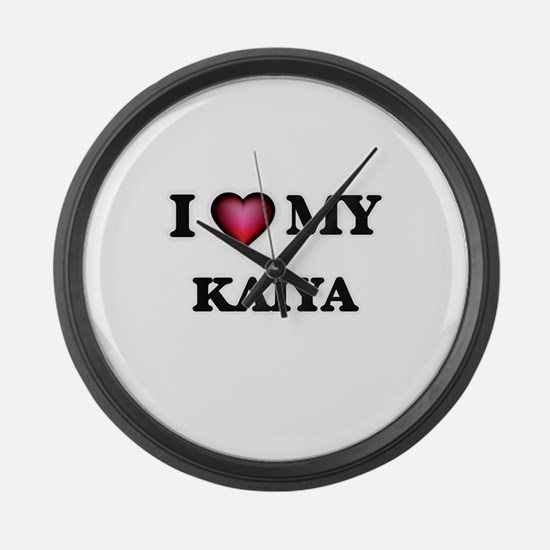 I love my Kaiya Large Wall Clock