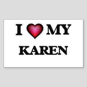 I love my Karen Sticker