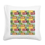 Global Warming Hoax Square Canvas Pillow