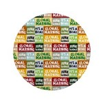 Global Warming Hoax Button