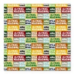 Global Warming Hoax Square Car Magnet 3
