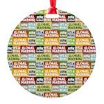 Global Warming Hoax Ornament