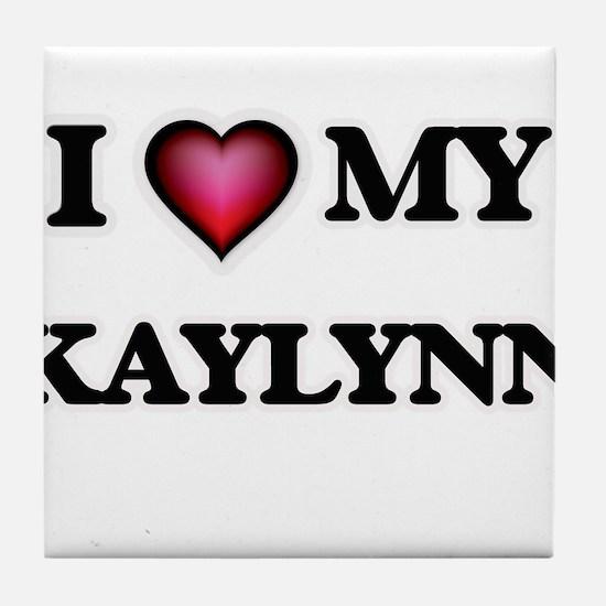 I love my Kaylynn Tile Coaster