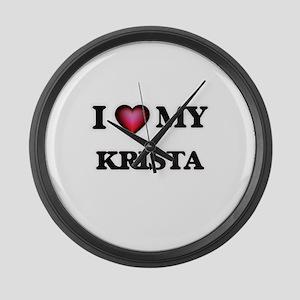 I love my Krista Large Wall Clock