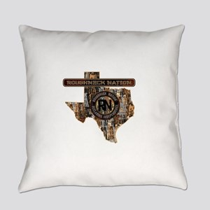TEXAS RIG UP CAMO Everyday Pillow