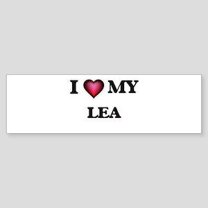 I love my Lea Bumper Sticker
