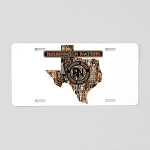 TEXAS RIG UP CAMO Aluminum License Plate