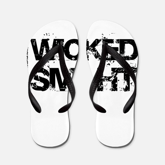 Wicked Smaht Flip Flops