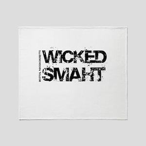 Wicked Smaht Throw Blanket