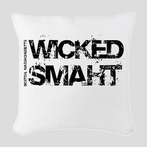 Wicked Smaht Woven Throw Pillow