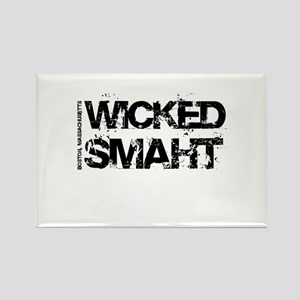Wicked Smaht Rectangle Magnet