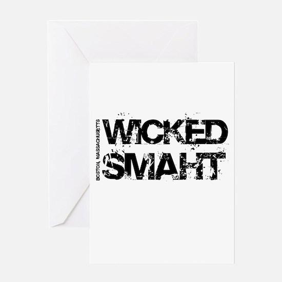 Wicked Smaht Greeting Card