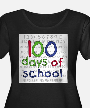 Numbers 100 Days Plus Size T-Shirt