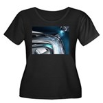 Reflections of Blue Plus Size T-Shirt