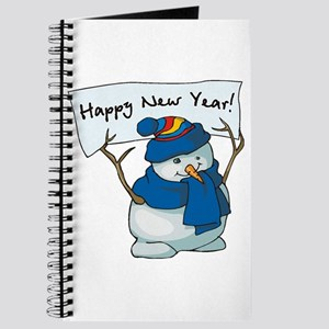New Year Snowman Journal