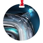 Reflections of Blue Ornament