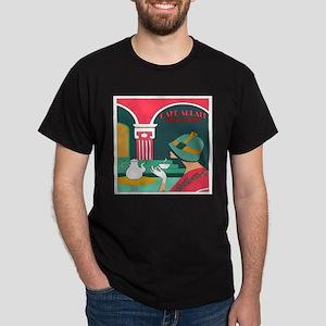 Woman at Cafe Aulait T-Shirt