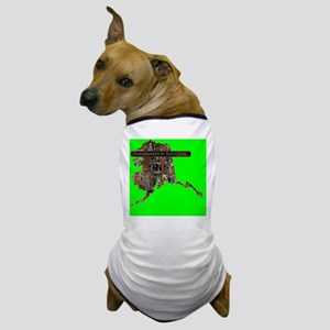 ALASKA RIG UP CAMO Dog T-Shirt