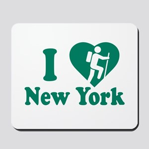 Love Hiking New York Mousepad