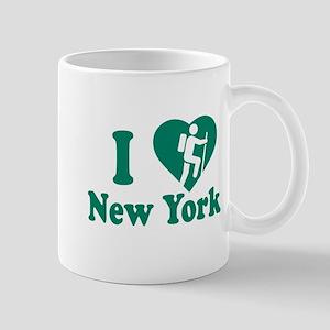 Love Hiking New York Mug