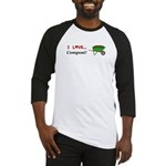 I Love Compost Baseball Jersey
