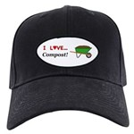 I Love Compost Black Cap